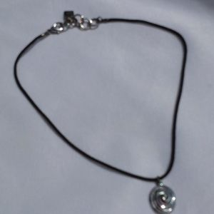 ANNE KLEIN Cord Shell Necklace